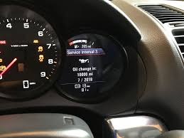 Porsche Boxster Oil Change - reset oil maintenance interval rennlist porsche discussion forums
