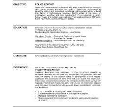 Police Officer Resume Sample by Police Officer Resume Template Cv01 Billybullock Us