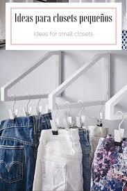 Ikea Hacks Closet Best 25 Closet Pequeños Ideas On Pinterest Organizar Los