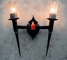 torch spw ironworks gothic u0026 medieval furniture candle cm