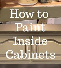 best paint for inside kitchen cabinets how to paint inside kitchen cabinets let s paint furniture
