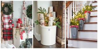 Farmhouse Christmas Decorating Ideas  Holiday Decorating Ideas from