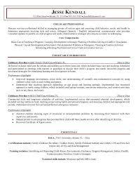 Resume For Caregiver Child Caregiver Resume Coinfetti Co
