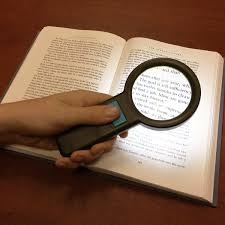 large magnifying glass with light hand held illuminated magnifying aids magnifiers magnifying