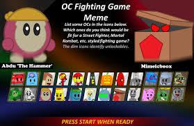 Fighting Meme - oc fighting meme by domobfdi on deviantart