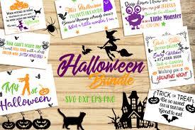 svg halloween bundle 16 cutting files design bundles