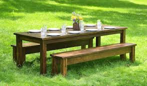 table rental prices tables benches penn rustics rentals