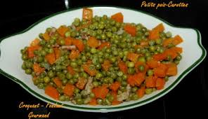 cuisiner les petits pois recette petits pois carottes 750g