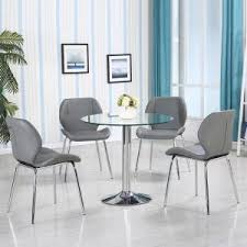 glass dining room table and chairs glass dining table and 4 chairs uk furniture in fashion