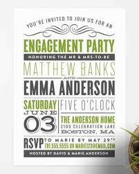 Engagement Party Invitation Cards 15 Engagement Party Invitations Martha Stewart Weddings