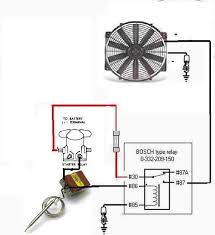 electric fans with relay wiring ford mustang forum with regard