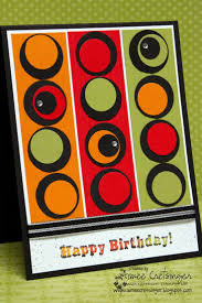 Homemade Card Ideas by 291 Best Cards With Circles Images On Pinterest Handmade Cards