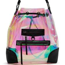 holographic bags gal handbags gal so psyched backpack holographic