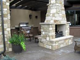 Outdoor Fireplace by Seasonal Uses For An Outdoor Fireplace