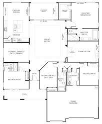 One Story House Plans With Basement Single Story Floor Plan U2013 Laferida Com