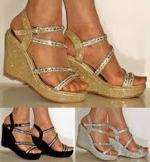 silver diamante sandals women u0027s shoes ebay