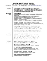 Mechanical Design Engineer Resume Objective Freelance Translator Resume Sample Freelance Writer Resume Sample