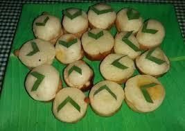cara membuat kue apem bakar apem bakar