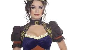 halloween costume steampunk costume steampunk femme xl w20123 youtube