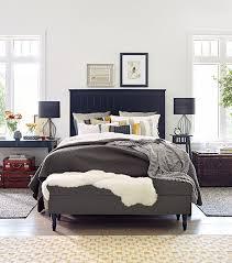 bedrooms elegant ikea bedroom with gray bed feat black headboard