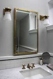 Simple Medicine Cabinet Kitchen Room Wash Basin With Cabinet Mirrored Bathroom Medicine