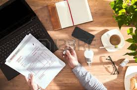 Electricity Bill Desk Electricity Bill Stock Photos U0026 Pictures Royalty Free Electricity