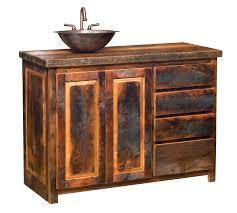 bathroom bathroom cabinet with barn reclaimed wood panel and