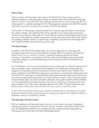 how to write a reflective paper examples chapter 2 literature reviews treatments used at pedestrian page 7