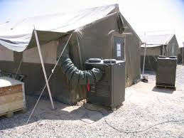 air conditioned tent dantherm army technology