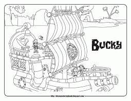 free jake and the neverland pirates coloring pages to print