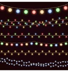 christmas lights royalty free vector image vectorstock
