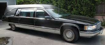hearse for sale 1996 sayers and scoville cadillac hearse for sale
