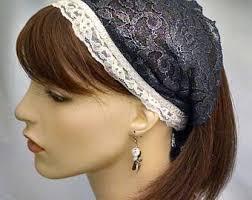 lace headbands navy lace headband etsy
