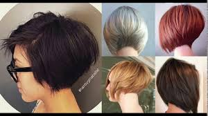 graduated bob for fine hair short stacked bob haircuts for fine hair youtube