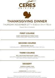 bistro thanksgiving dinner menu bellagio buffet annaunivedu