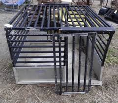 Truck Bed Dog Crate Rasmus Auctioneers