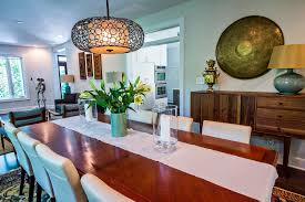 dining room at the modern curbed inside touring an expanded modernized lake claire gem