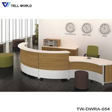 Hair Salon Reception Source Quality with China Spa Reception Desk In White Vinyl Or Leather High Gloss