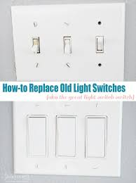 how to replace a light switch with a dimmer how to replace old light switches love pomegranate house best