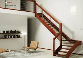 interior wooden stairs design come with straight with flat