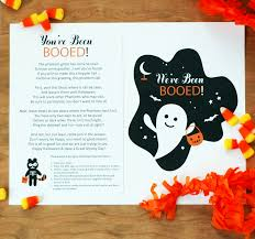Halloween Poem Short Dressing Math Activities Youve Been Booed Printable Bunnycakes