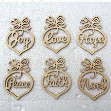 wooden christmas ornaments wooden christmas ornaments personalized laser hollow out wood