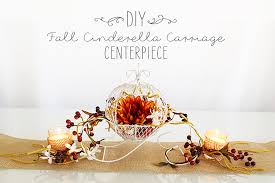carriage centerpiece cinderella carriage fall diy wedding centerpiece afloral