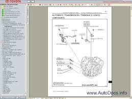 toyota avensis verso picnic service manual repair manual order