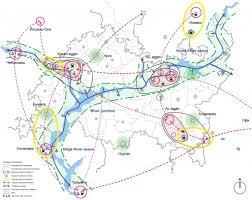 Volga River Map The Blue Heart Of Tatarstan Russia Urbanplanet
