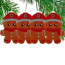 image detail for ohio state buckeyes bell wreath ornament