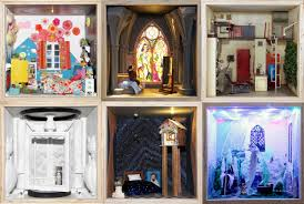 Small Stories At Home In A Dollhouse U0027 Exhibit On Display At