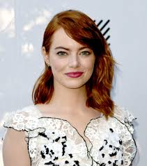 emma stone is back to blond u2014but with a new twist glamour