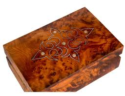 mother of pearl inlaid box moroccan thuya wood moroccan buzz