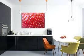 deco mural cuisine deco mural cuisine tableau dacco fraise des bois deco metal mural
